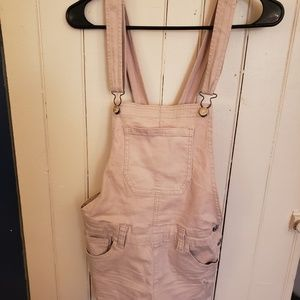 Forever 21 pink overalls